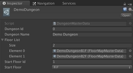 Dungeon Data