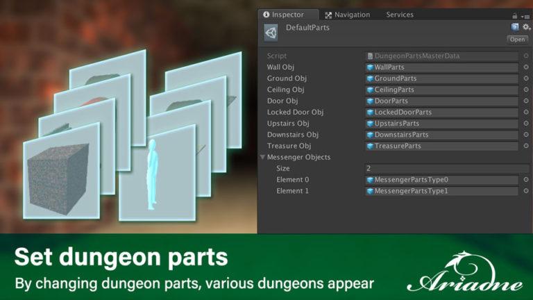 Set dungeon parts