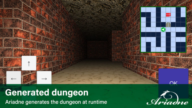 Generated dungeon